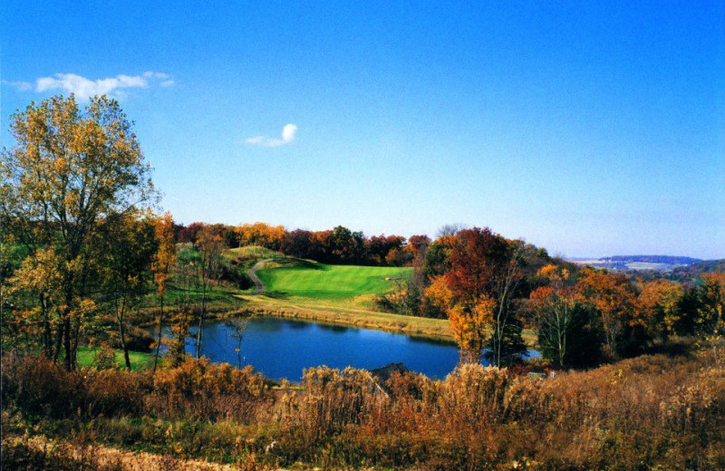 Golf Course View at  Eagle Ridge Resort