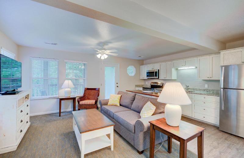 Guest room at Beachwoods.