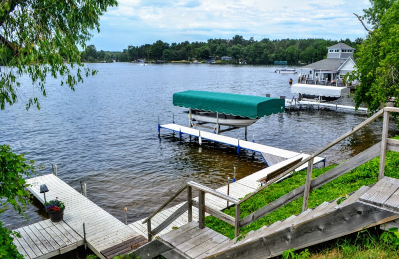 Rental dock space at Lakeland Rental Management.