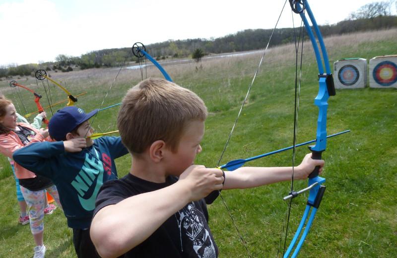 Archery near Spicer Green Lake Resort.