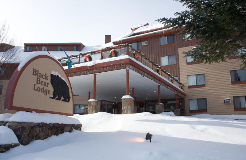 Exterior view of Black Bear Lodge.