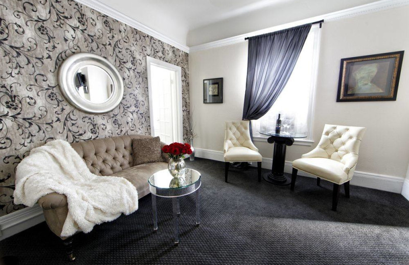 Guest room at Mount View Hotel & Spa.