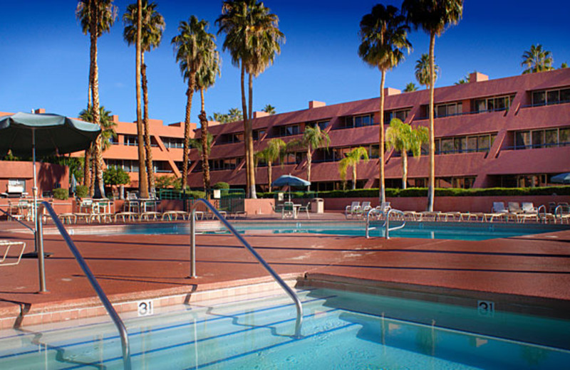 Outdoor pool at Marquis Villas Resort.