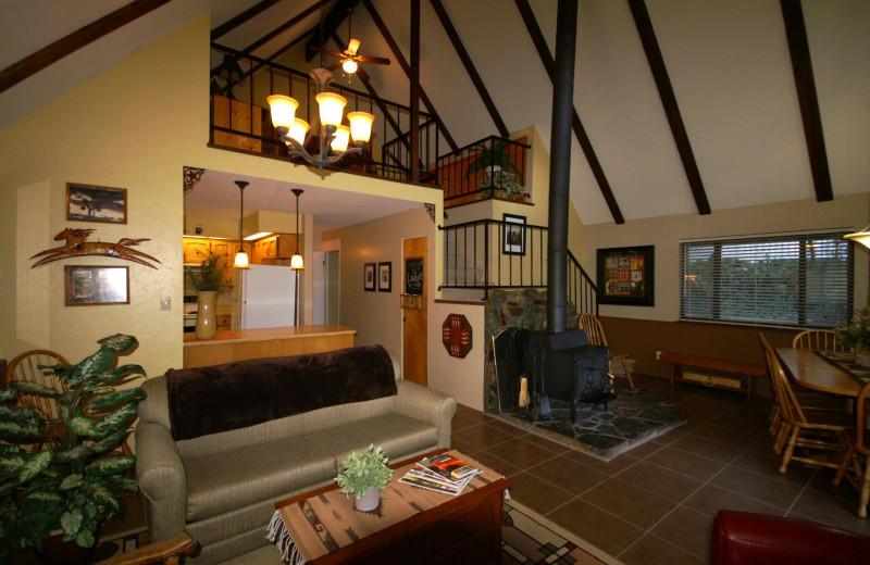 Interior view of Prescott Pines Inn B & B.