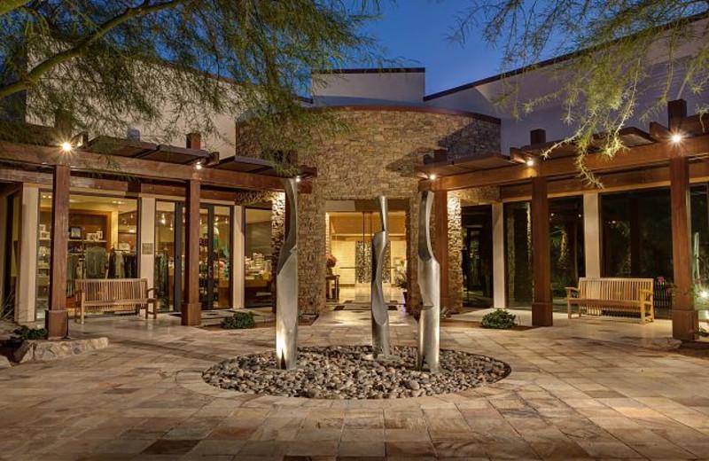 Spa Entrance at Marriott Desert Springs Resort
