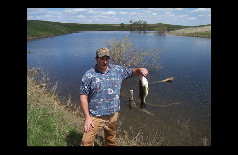 Fishing at Forester Ranches.