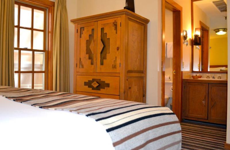 Guest room at Hotel Chimayo de Santa Fe.