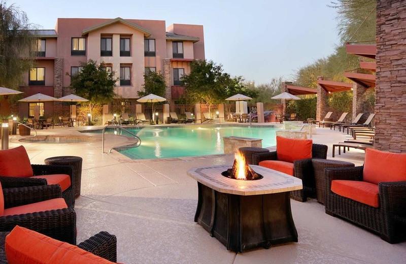 Outdoor pool at Hilton Garden Inn Scottsdale North/Perimeter Center.