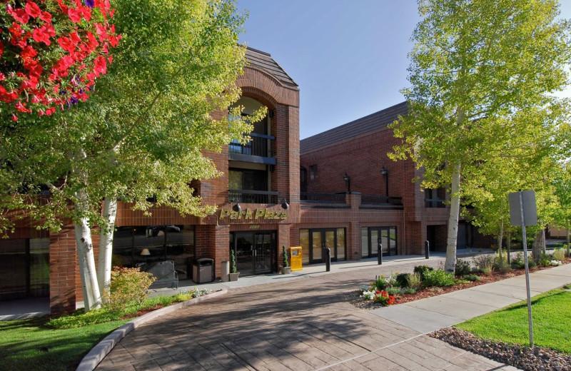 Exterior view of Park Plaza Resort.