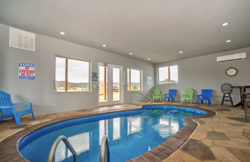 Rental indoor pool at Eden Crest Vacation Rentals, Inc.