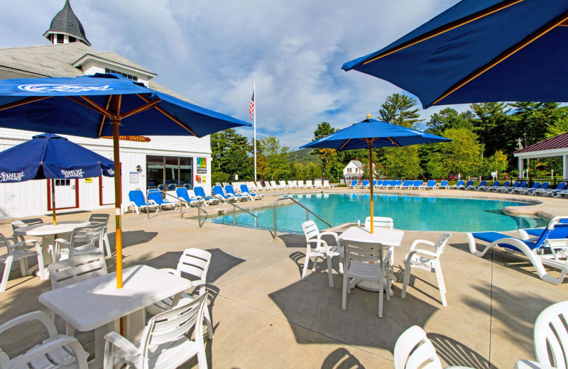 Outdoor pool at Red Jacket Mountain View Resort.