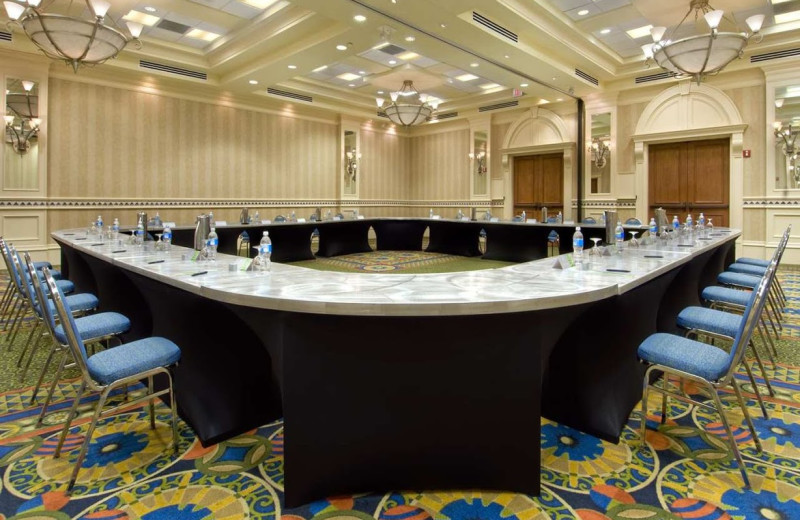 Meeting room at Hilton Naples.
