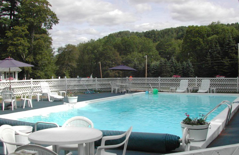 Outdoor Pool at Pondside Country Motel