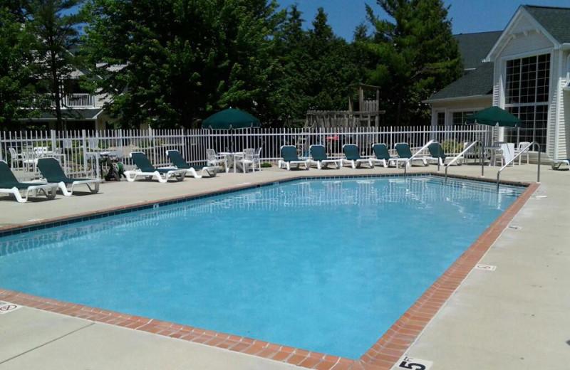 Outdoor pool at Pheasant Park Resort.