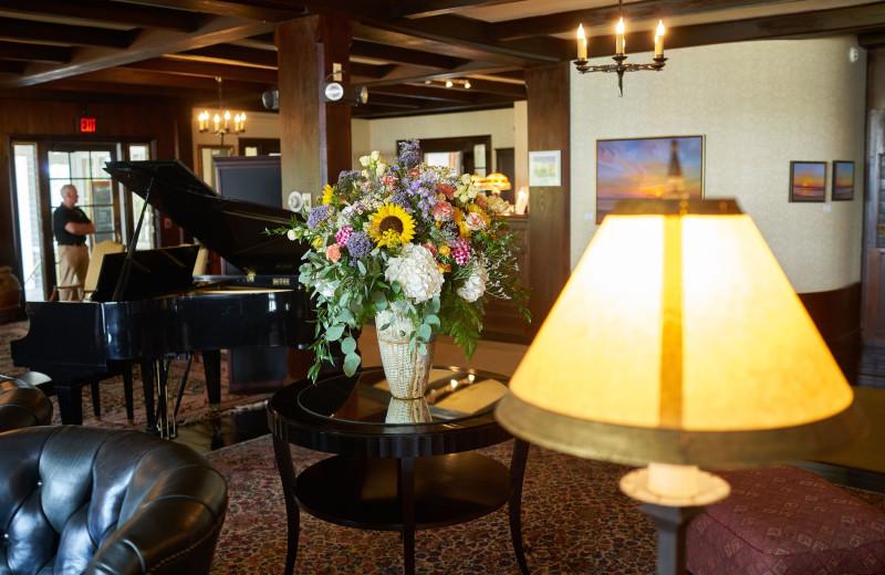Lobby at Black Point Inn.