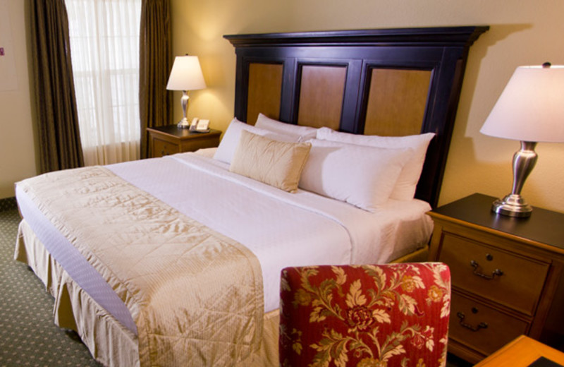 Guest Bed at The Historic Powhatan Resort