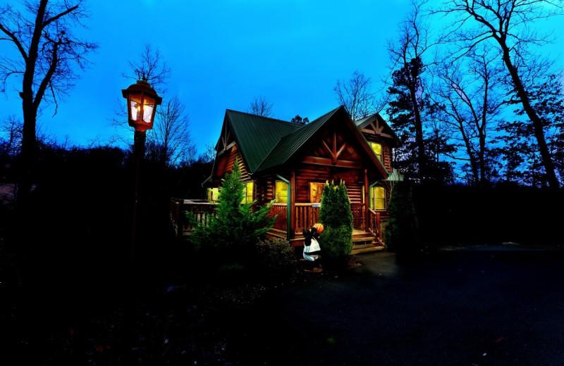 Rental exterior at Elk Springs Resort.