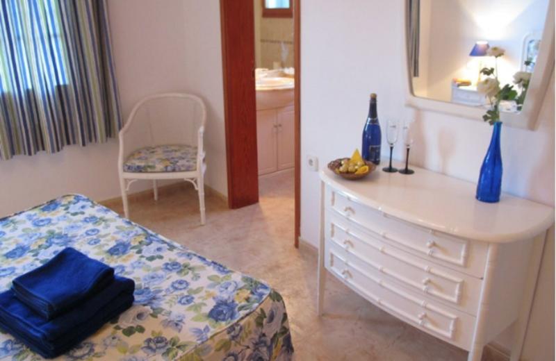 Guest room at Villas Don Rafael.