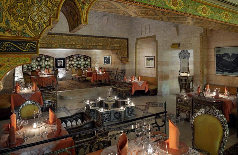 Dining at Mövenpick Petra Resort.