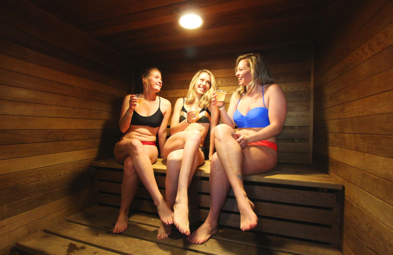 Sauna at Mt. Princeton Hot Springs Resort.