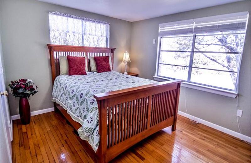 Rental bedroom at Lake Travis & Co.