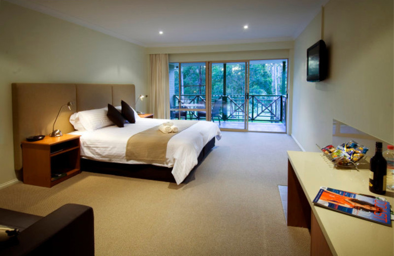 Guest room at Bonville International Golf Resort and Country Club.