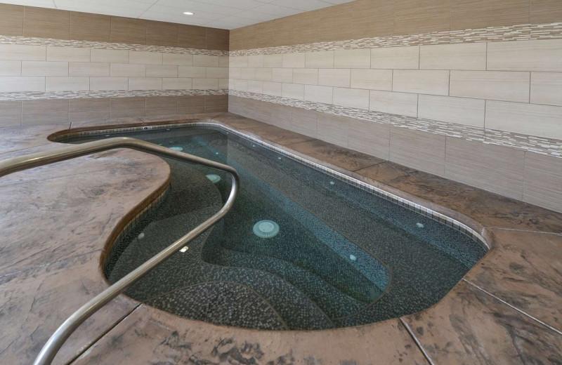 Hot tub at The Best Western Abbey Inn Hotel.