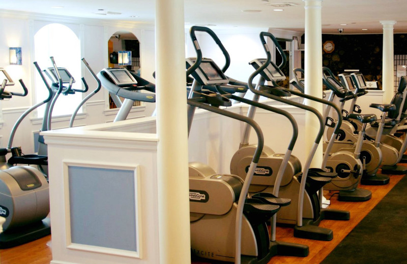 Fitness room at Mountain View Grand Resort & Spa.