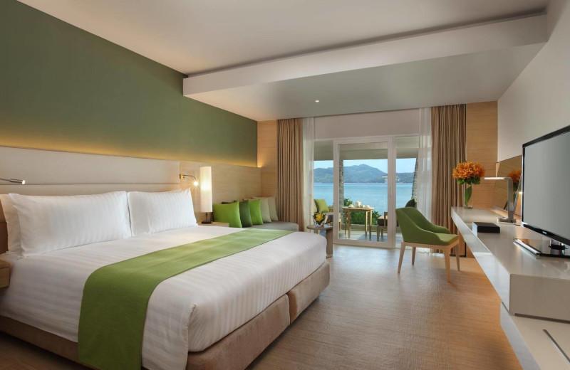 Guest room at Amari Coral Beach Resort.
