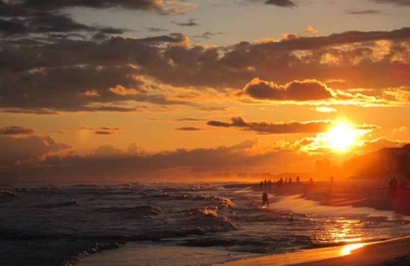 Sunset at Seascape Resort.