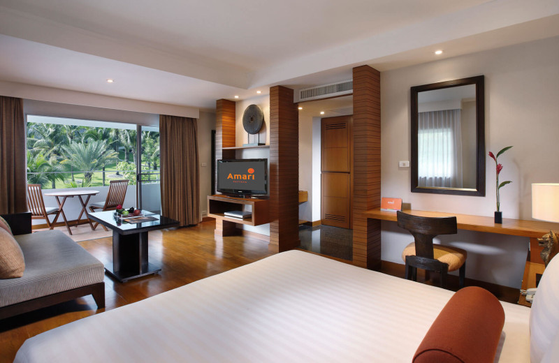 Guest room at Amari Garden Pattaya.