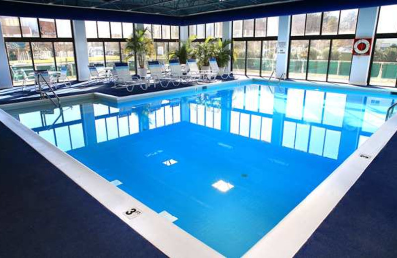Indoor Pool at Doubletree by Hilton