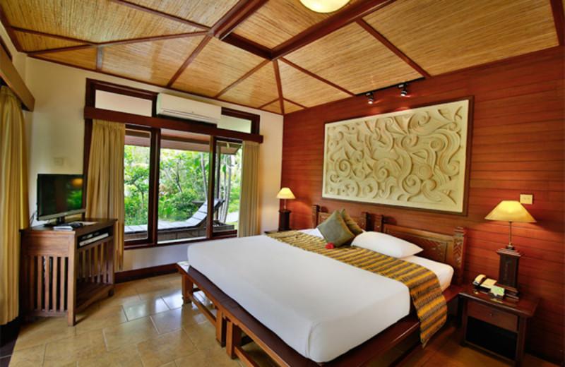 Guest room at Bali Spirit.
