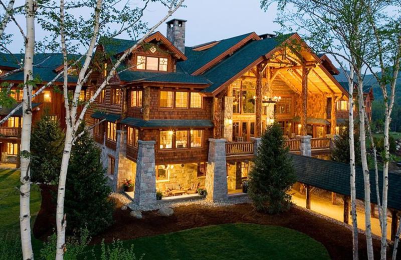 Vacation rental exterior at Lake Placid Vacation Homes.