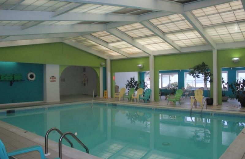 Indoor pool at Dolphin Run Condominium Association. Inc.
