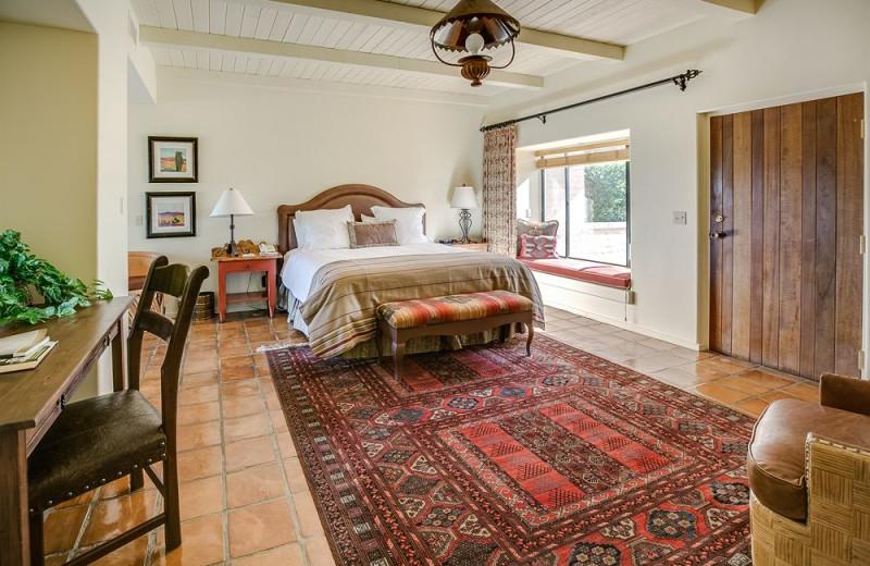 Guest bedroom at Rancho De Los Caballeros.