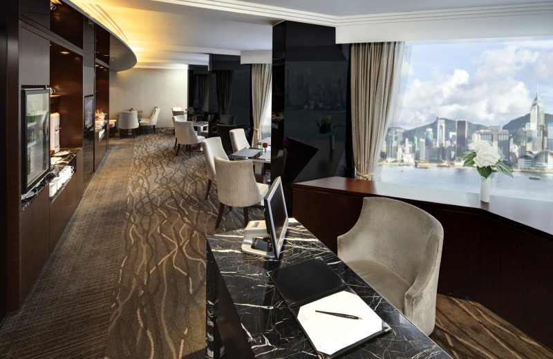 Lounge at Kowloon Hotel.