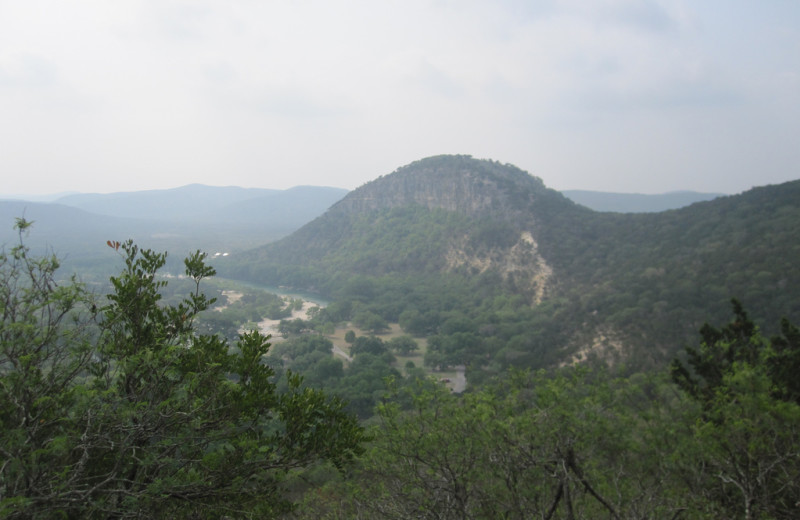 Scenic view at Rancho Cortez.