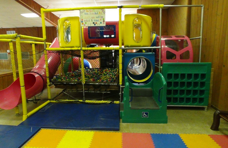 Children's play area at Villa Roma Resort.