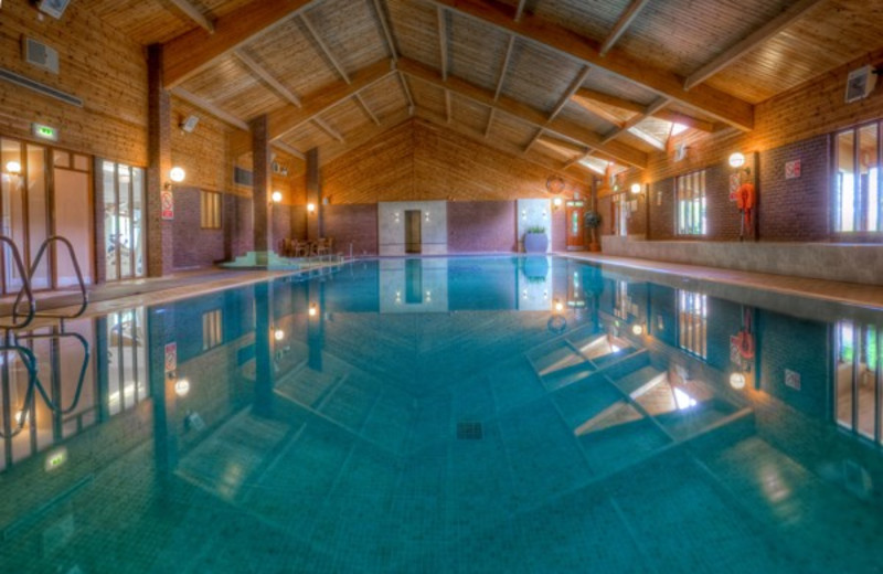 Indoor pool at Auchrannie Country House Hotel.