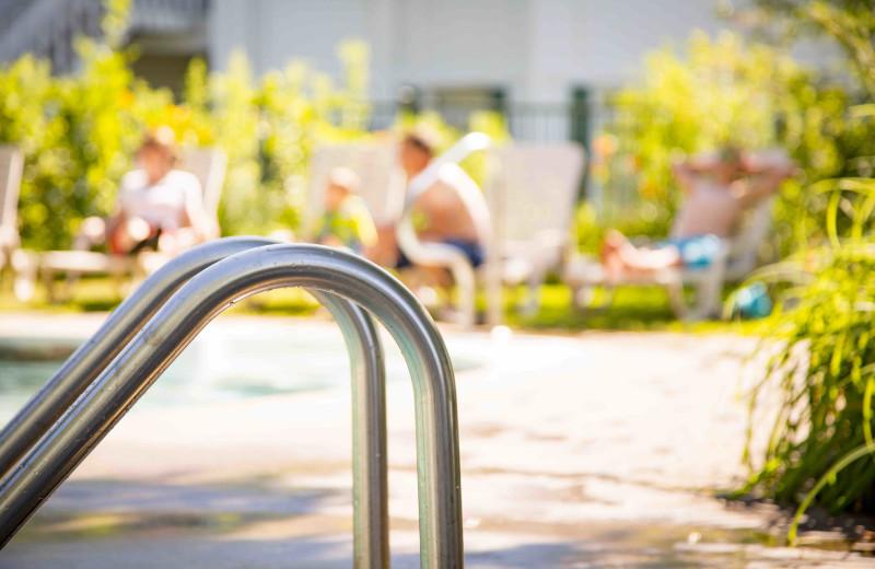 Pool at Elmhirst's Resort.