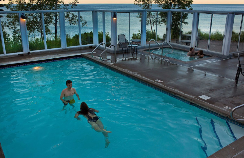 Pool at Bluefin Bay on Lake Superior.