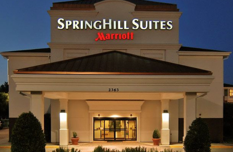 Exterior view of SpringHill Suites Dallas.