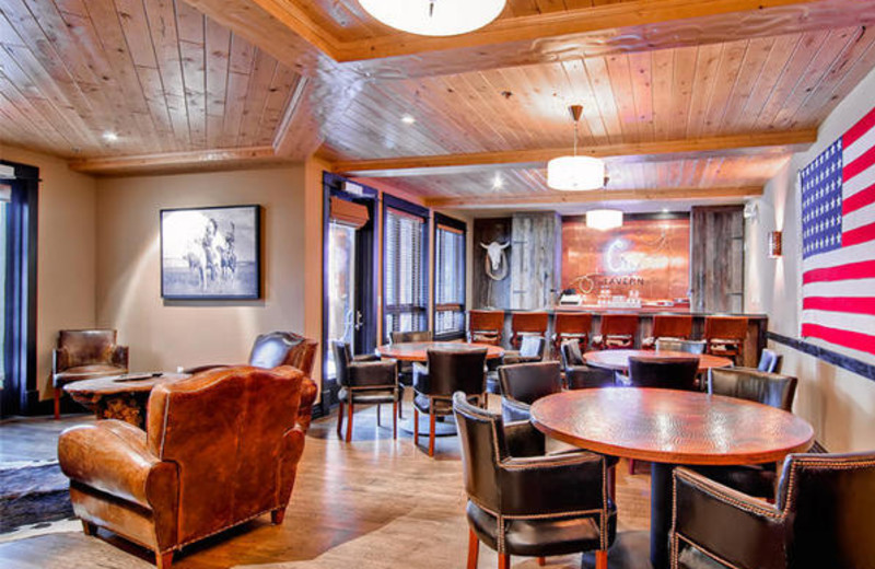 Lounge area at BlueSky Breckenridge.