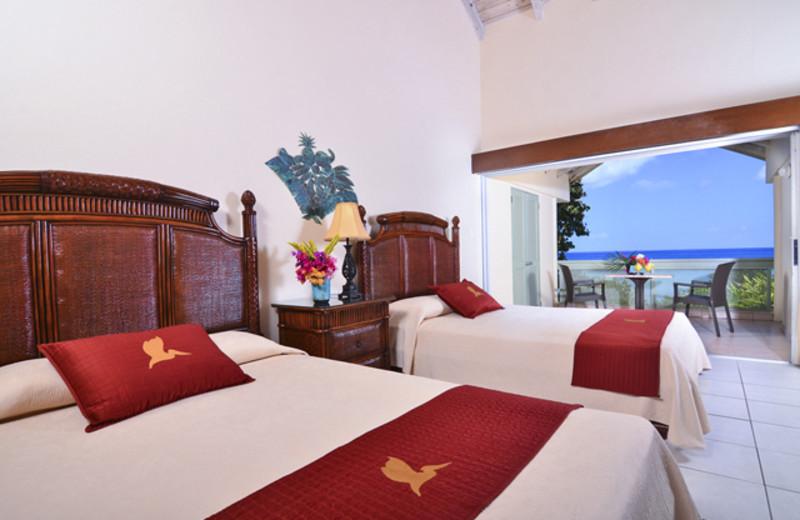 Guest room at Long Bay Beach Resort & Villas.