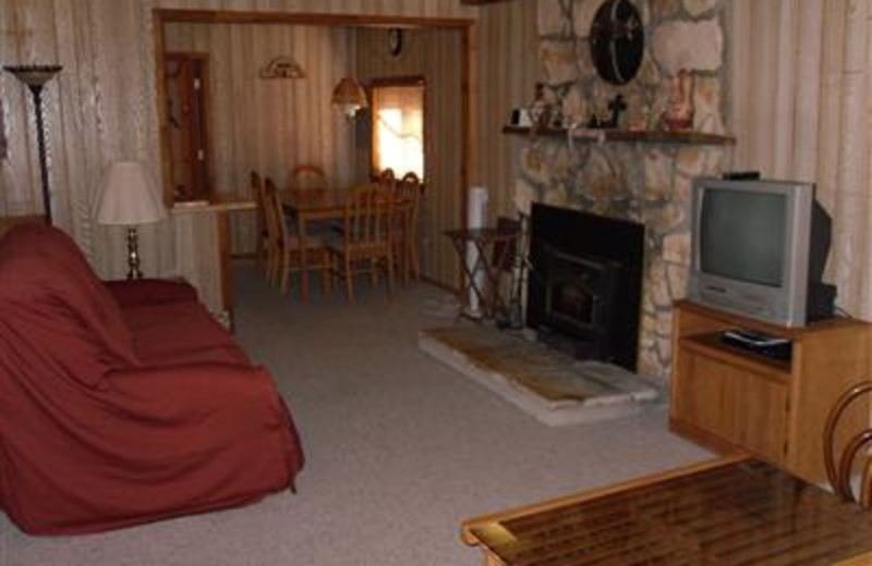 Cabin Interior at The Upper Canyon Inn