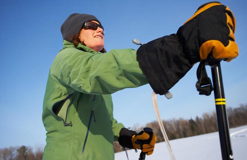Skiing near Lake Placid Vacation Homes.