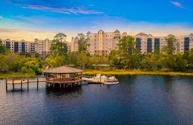 Lake at The Grove Resort & Spa.