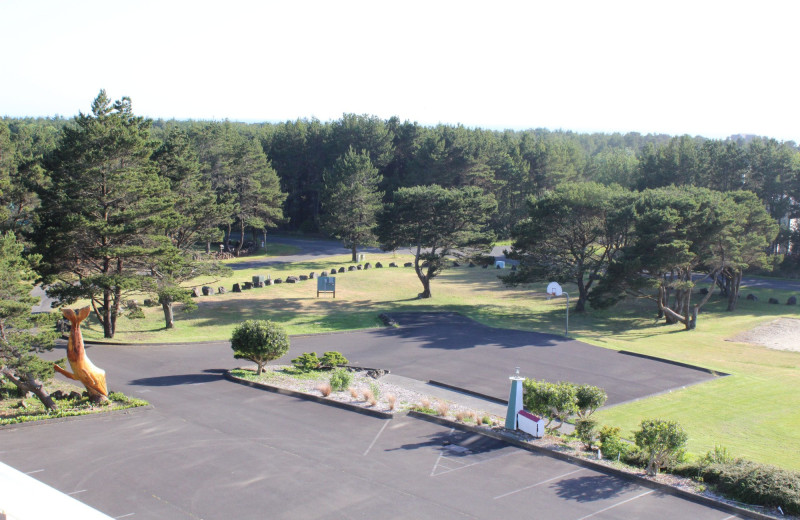 Grounds at Chateau Westport Resort.