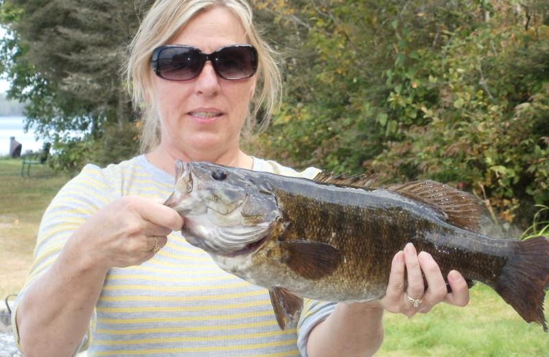 Fishing at Tamarack Resort.
